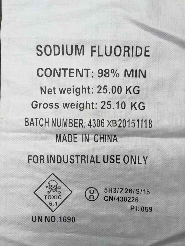Sodium Fluoride Industrial Grade Xinbo Chemical